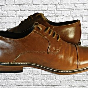 43c21640338bf0 Dexter Shoes - Dexter Men s Alec Cap Toe Memory Foam Comfort Shoe